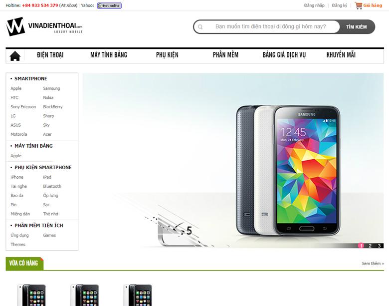 Thiết kế web bán hàng trực tuyến Quảng Nam