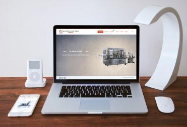 Thiết kế web Công ty chế tạo máy Dũng Phát