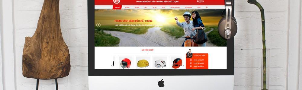 Thiết kế website mũ bảo hiểm VS dựa trên sự thấu hiểu người dùng sâu sắc