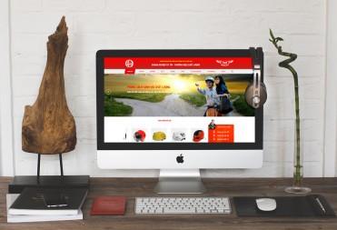 Thiết kế website mũ bảo hiểm VS