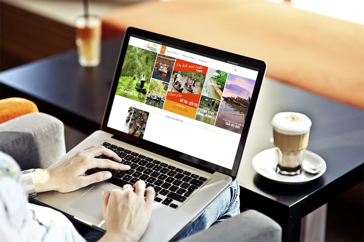 Thiết kế web tour du lịch miền Tây