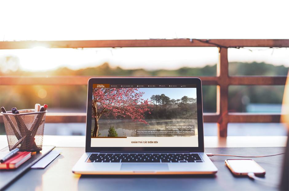 Thiết kế website Thung Lũng Dasar