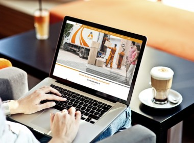 Thiết kế website vận tải Tuấn Anh